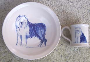 'Oh No! It's Stanley!' Pasta Bowl and Mug.